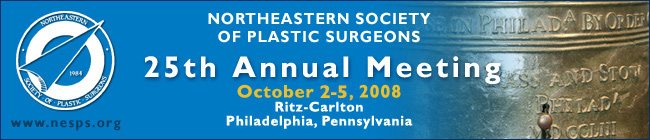 NESPS 25th Annual Meeting, October 2-5, 2008, Ritz-Carlton, Philadelphia, Pennsylvania